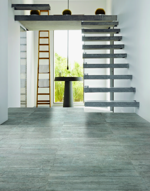 CONCRETE PORCELAIN FLOORS - Concrete porcelain tiles are a great alternative to actual concrete because of the maintenance. You won't have to stress about your floor cracking or staining while still achieving a clean and organic contemporary look.Image by Houzz