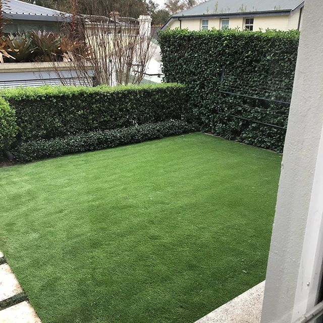 Room with a view. TAMA40 artificial grass