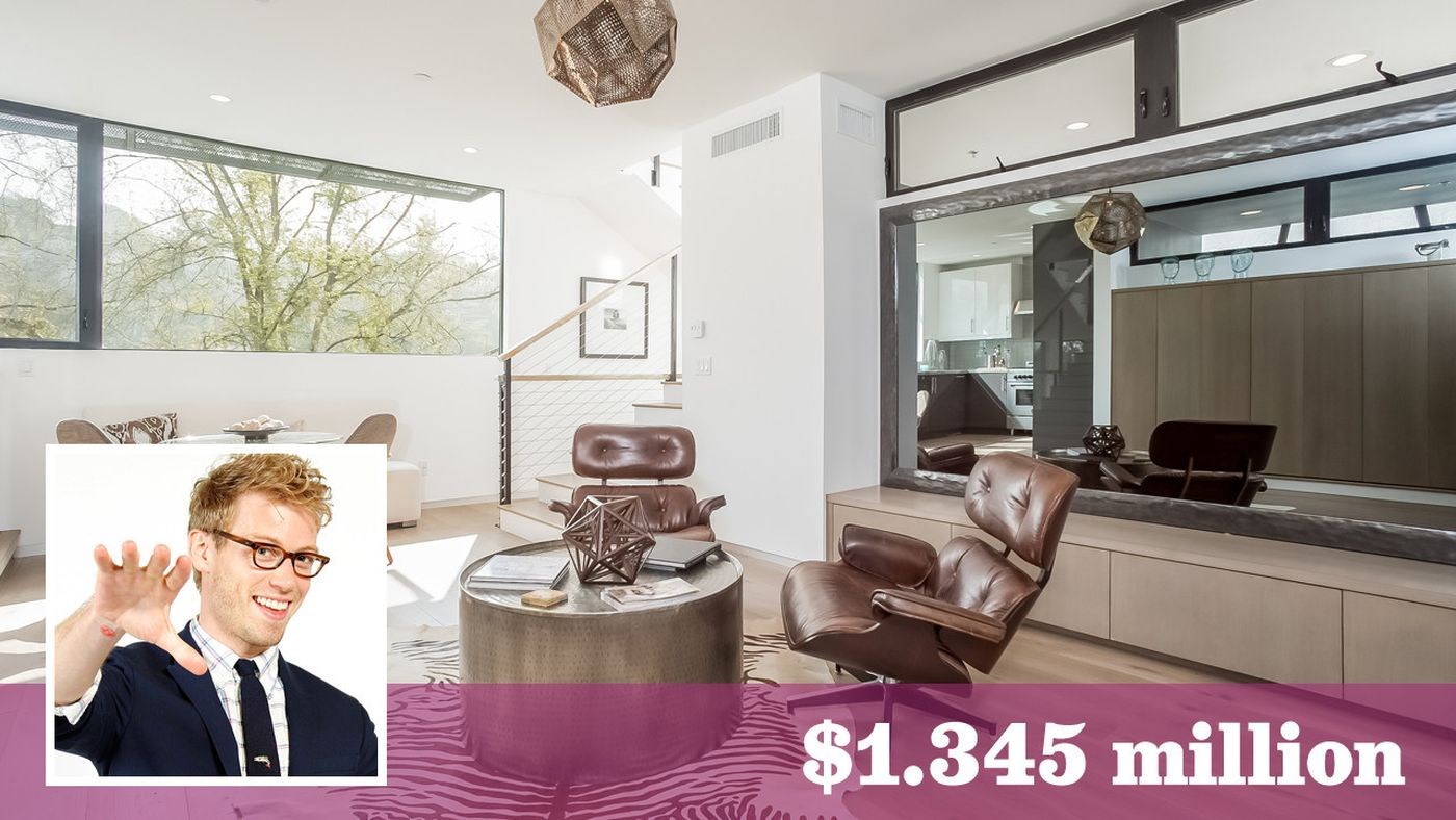 'NCIS: Los Angeles' actor Barrett Foa snags a modern home in Silver Lake -