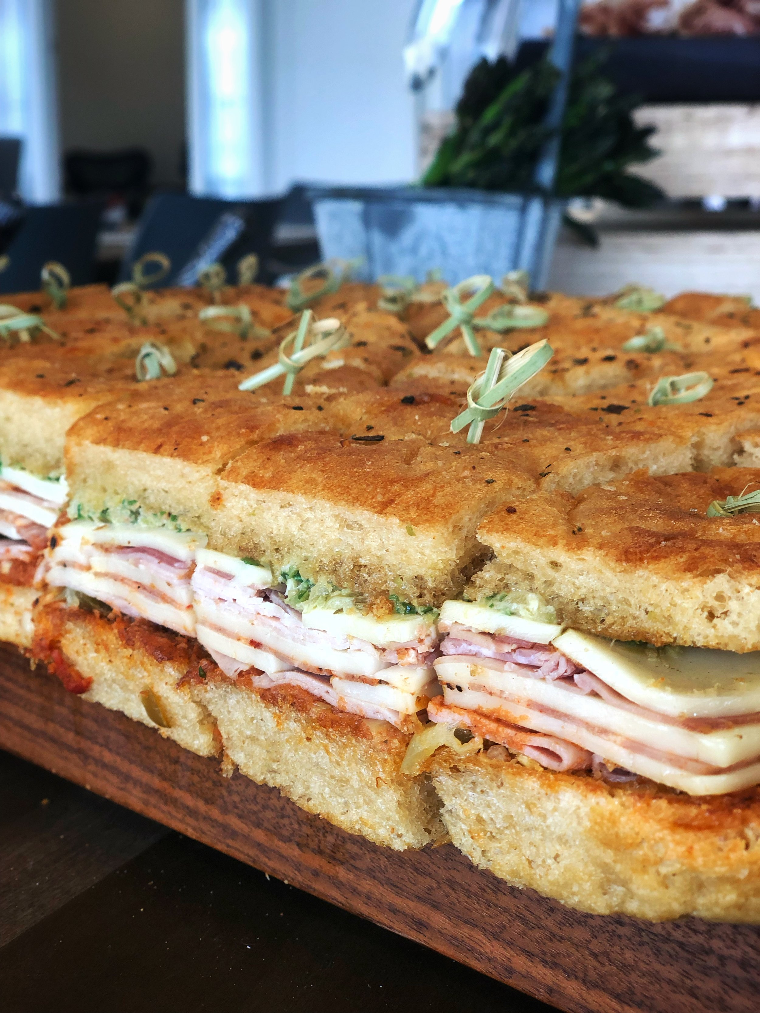 Not your average office lunch. - Freshly baked bread, quality handmade ingredients and locally raised meats are the hallmark of all of our offerings. We offer a distinctive take on corporate breakfast, lunch and team building events. Customized themed menus available for groups of 20 or more.
