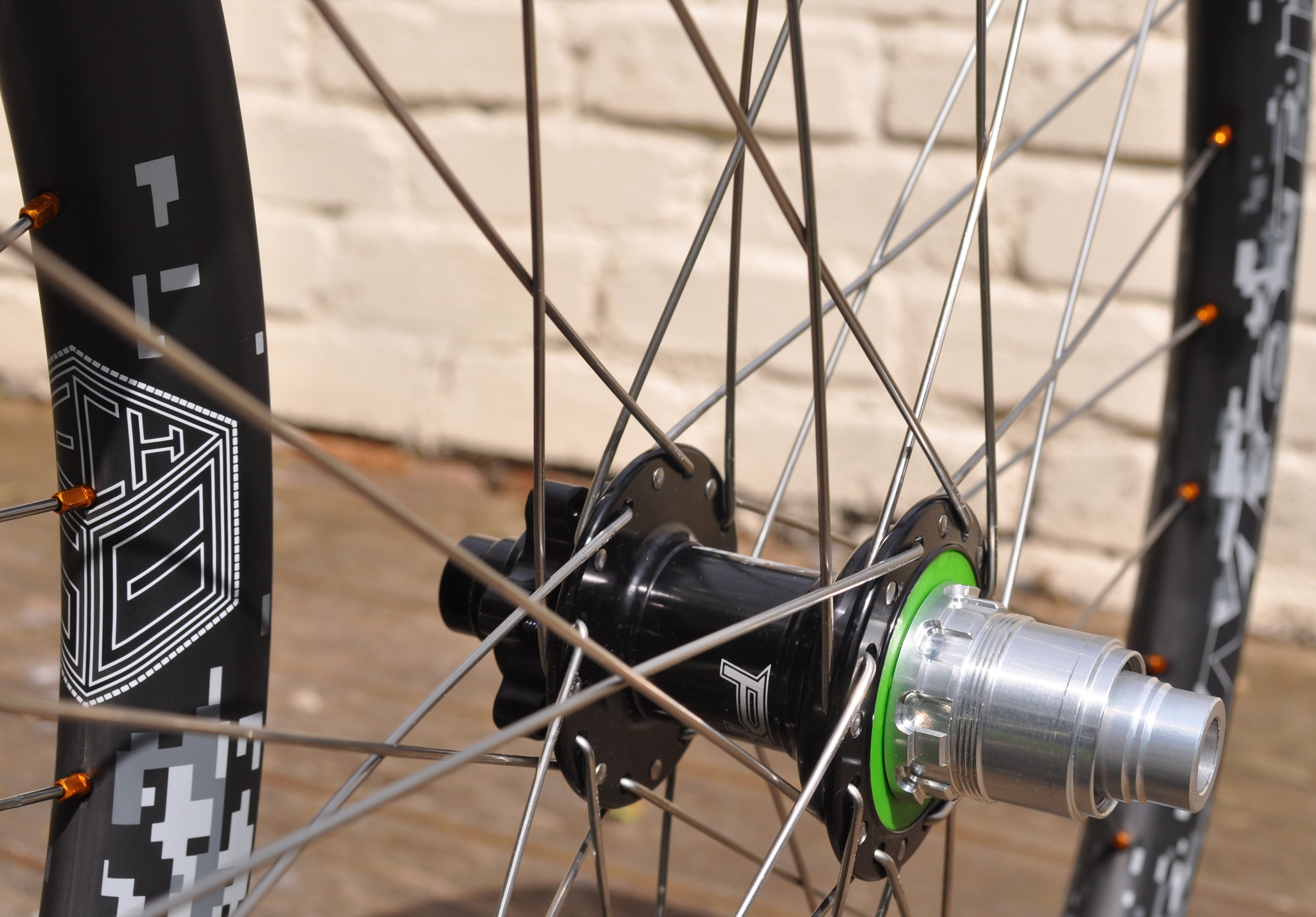 WHEEL BUILDING - Hand built wheels start at £30Spokes are individually cut and rolled to length. A huge range of options are available including Sapim's fantastic D-light triple butted spokes and a variety of nipples in different colours and materials.