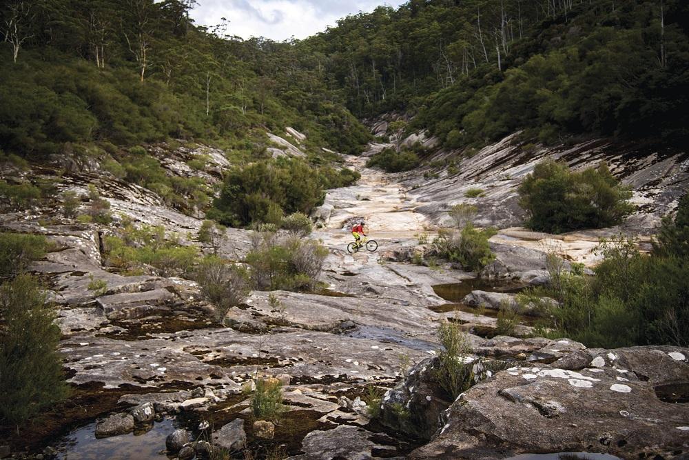 mountain bike East Coast Tasmania