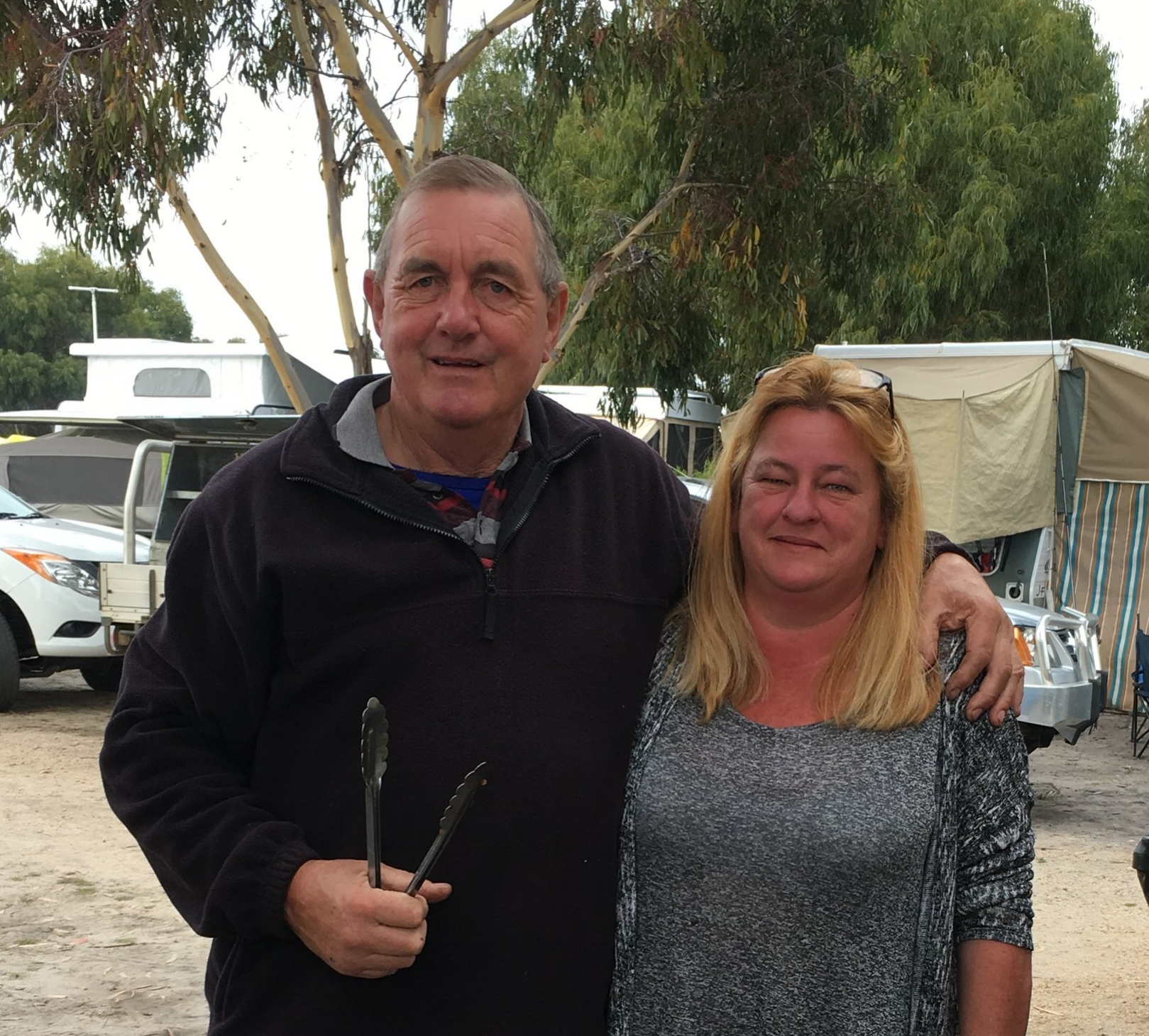 Meet Kevin and Louise, our friendly Park Managers