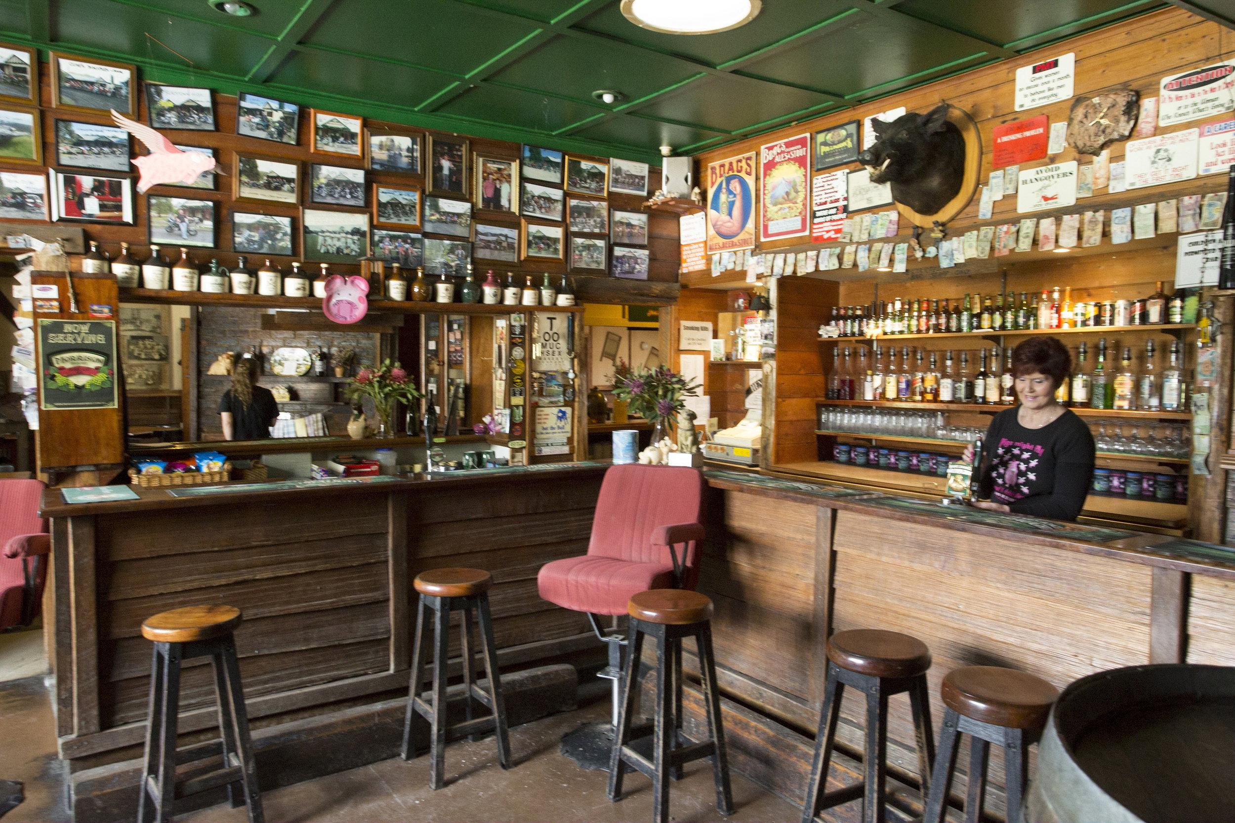 The Pub in the Paddock, one of Tasmania's oldest pubs, is on the East Coast of Tasmania