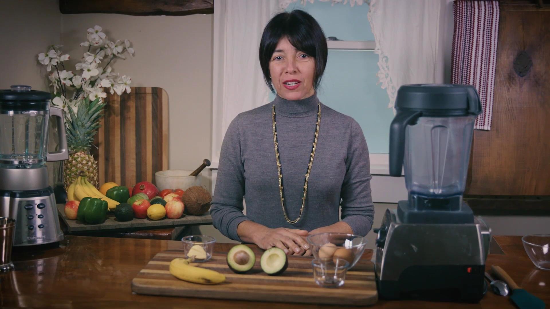 Avocado and Banana Smoothie - recipe