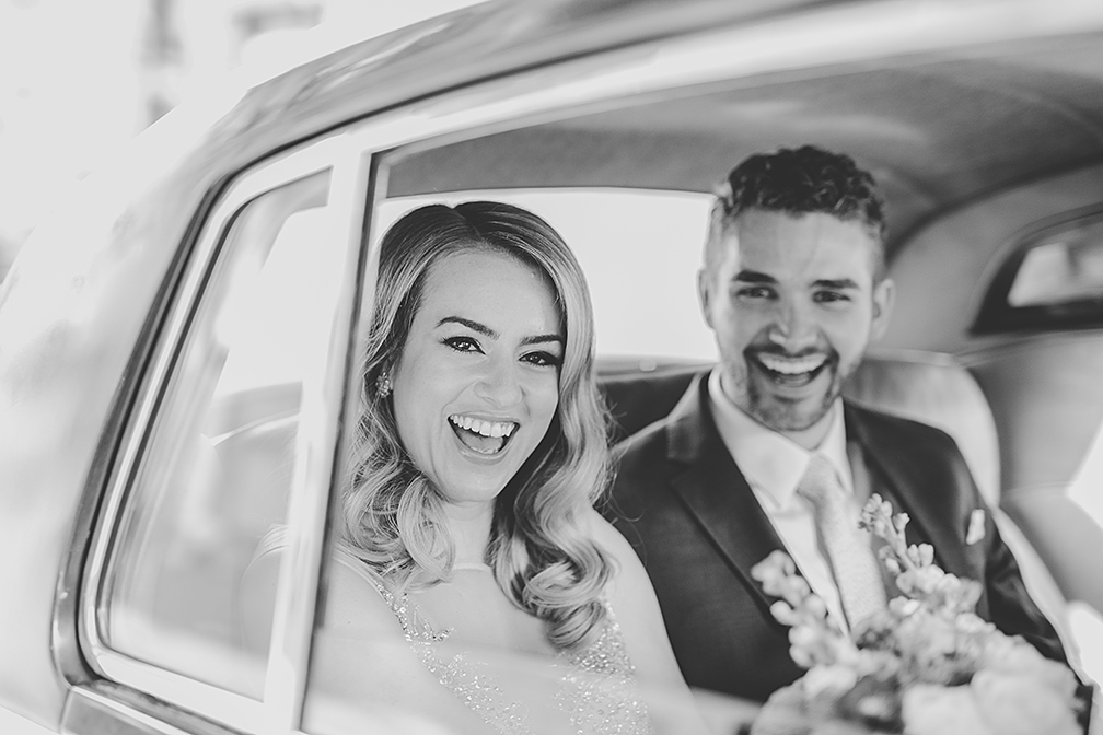 "That ""WE ARE ACTUALLY DOING THIS!"" reaction which made for this genuine moment filled with pure happiness!   Claire Morris Photography"