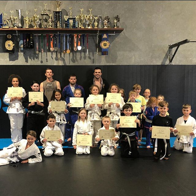 Another term down and these children smashed another grading. We are so proud of you all!! Just look at those smiles 😁#childrensbrazilianjiujitsu #smashedtheirgrading #costermma #coachcoster #gippsland #warragulmma