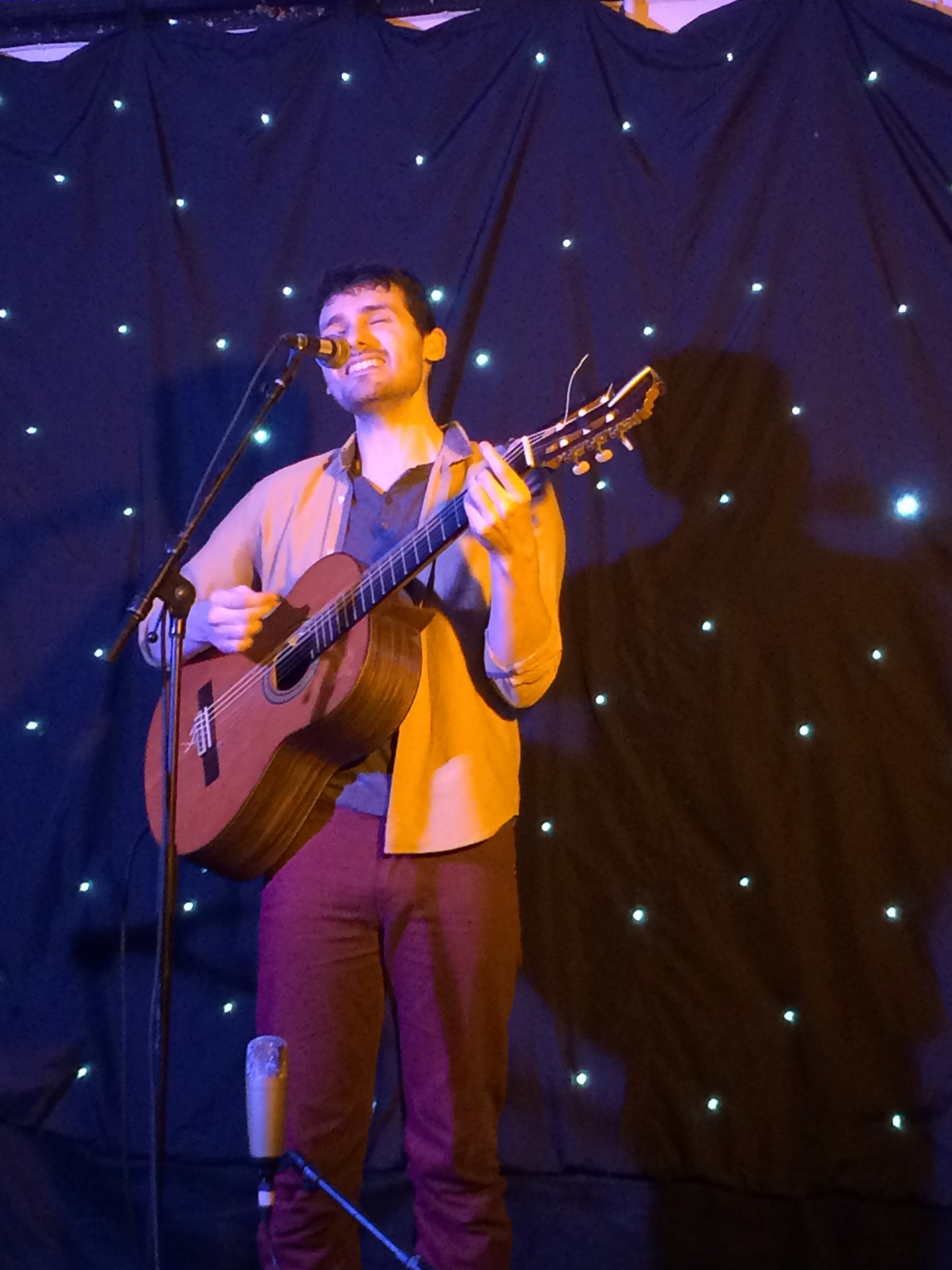 Dom Prag at Forest Folk Club
