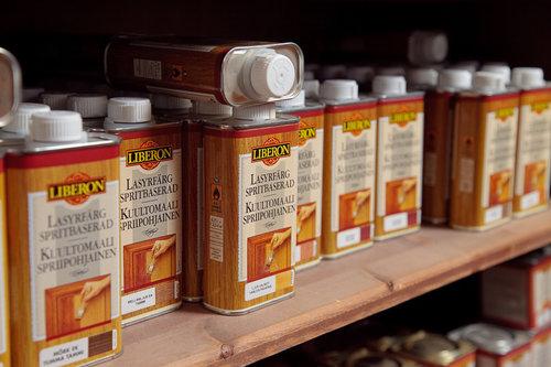 Liberon tuotteet -30 %  Kuultomaalit, antiikki- ja täytevahat sekä puukitit.