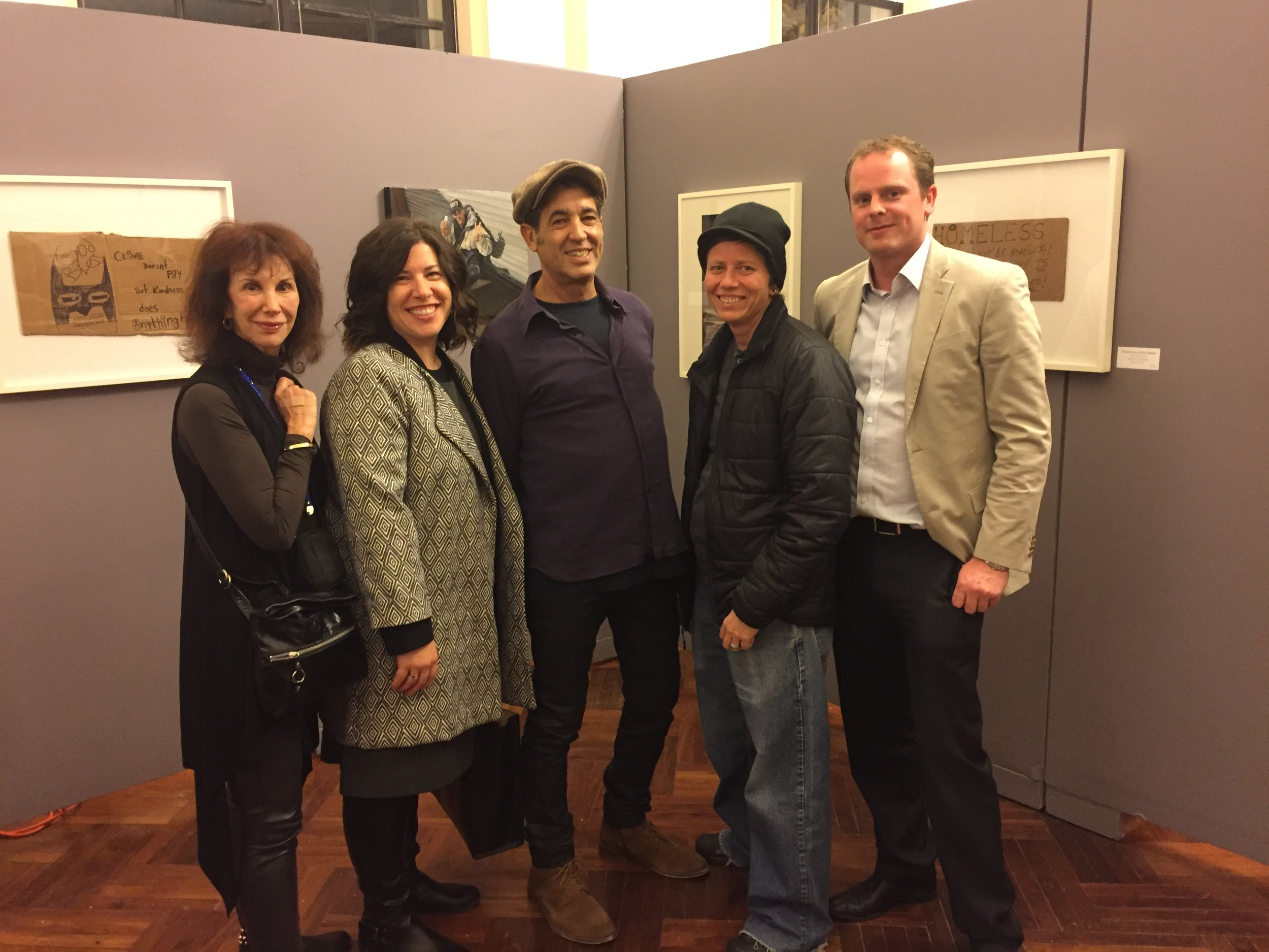 Artist & YPAB member Chris Brown gathered artists to put on an NHHAW-centric exhibit to raise awareness of our cause, which ran for three days at Legend Galleries