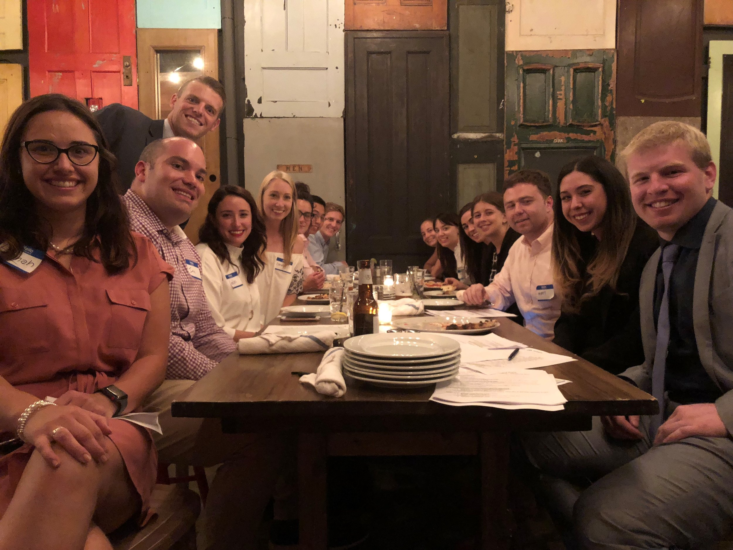 Our    Young Professionals Advisory Board    raised funds and awareness for Bethesda Project at their annual HHAW Fundraising Happy Hour at    Brickwall Tavern.