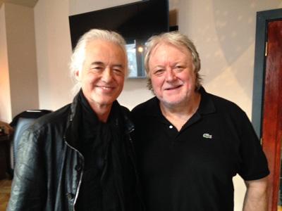 Jimmy Page & Chris Kimsey