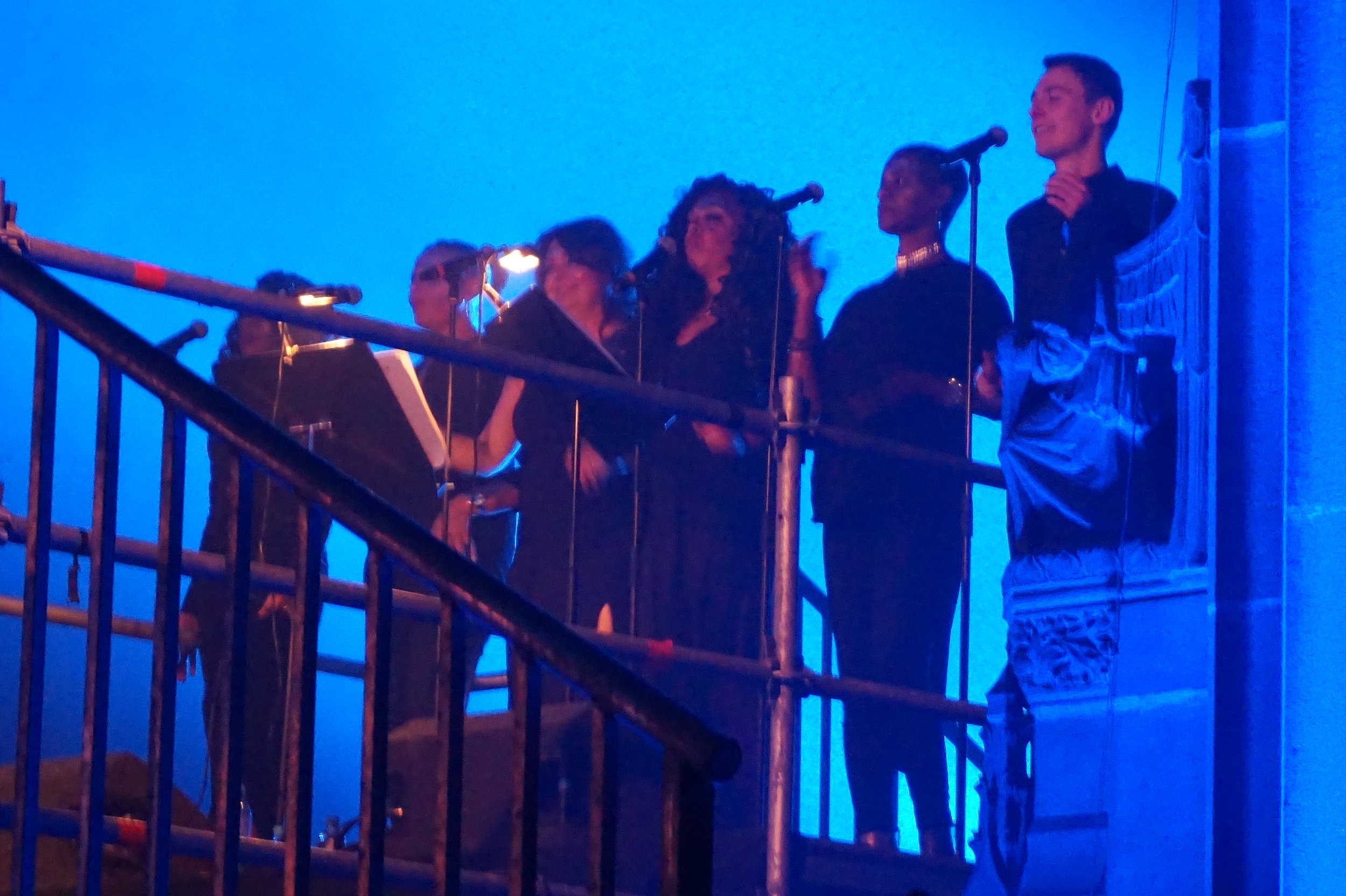 Singers on stage cream.JPG