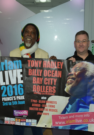 Billy Ocean with Darren Goulden
