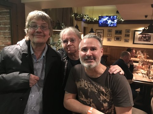 Don Airey (Keyboards) Ian Paice (Drums) from the band Deep Purple with Stret in Helsinki