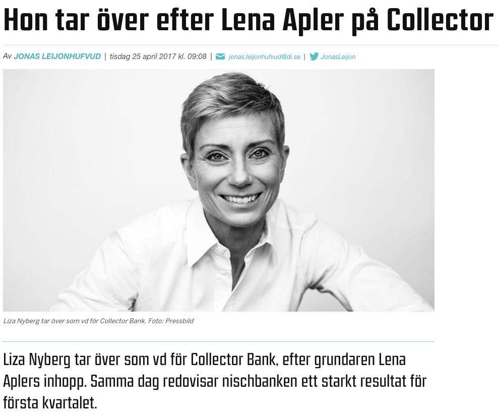 Collector investerare i Nordkap