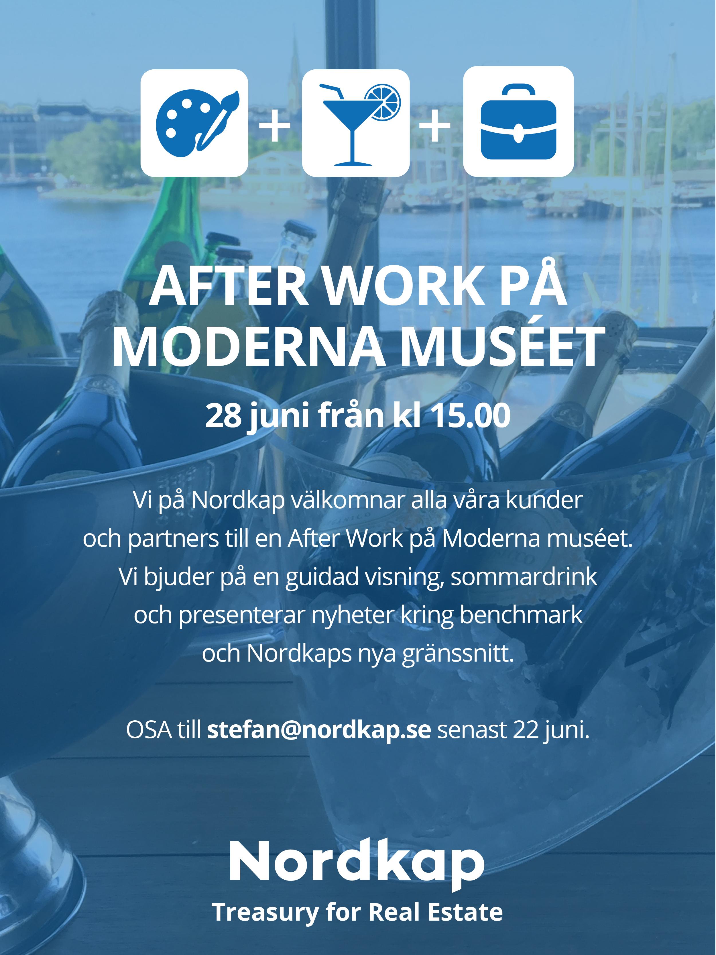 Nordkapevent på Moderna Museet
