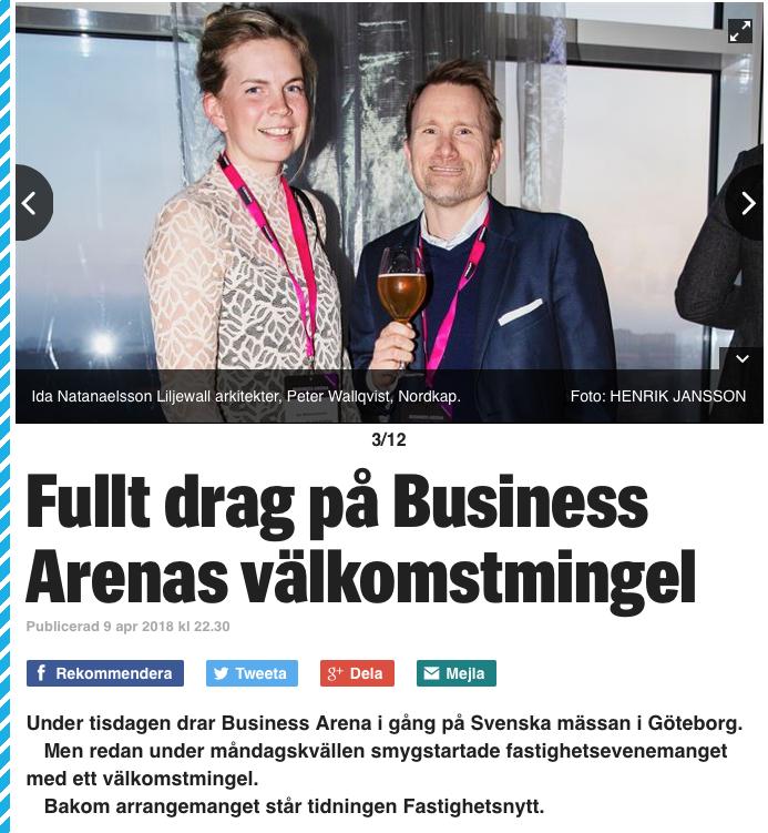 Nordkap på Business Arena Göteborg