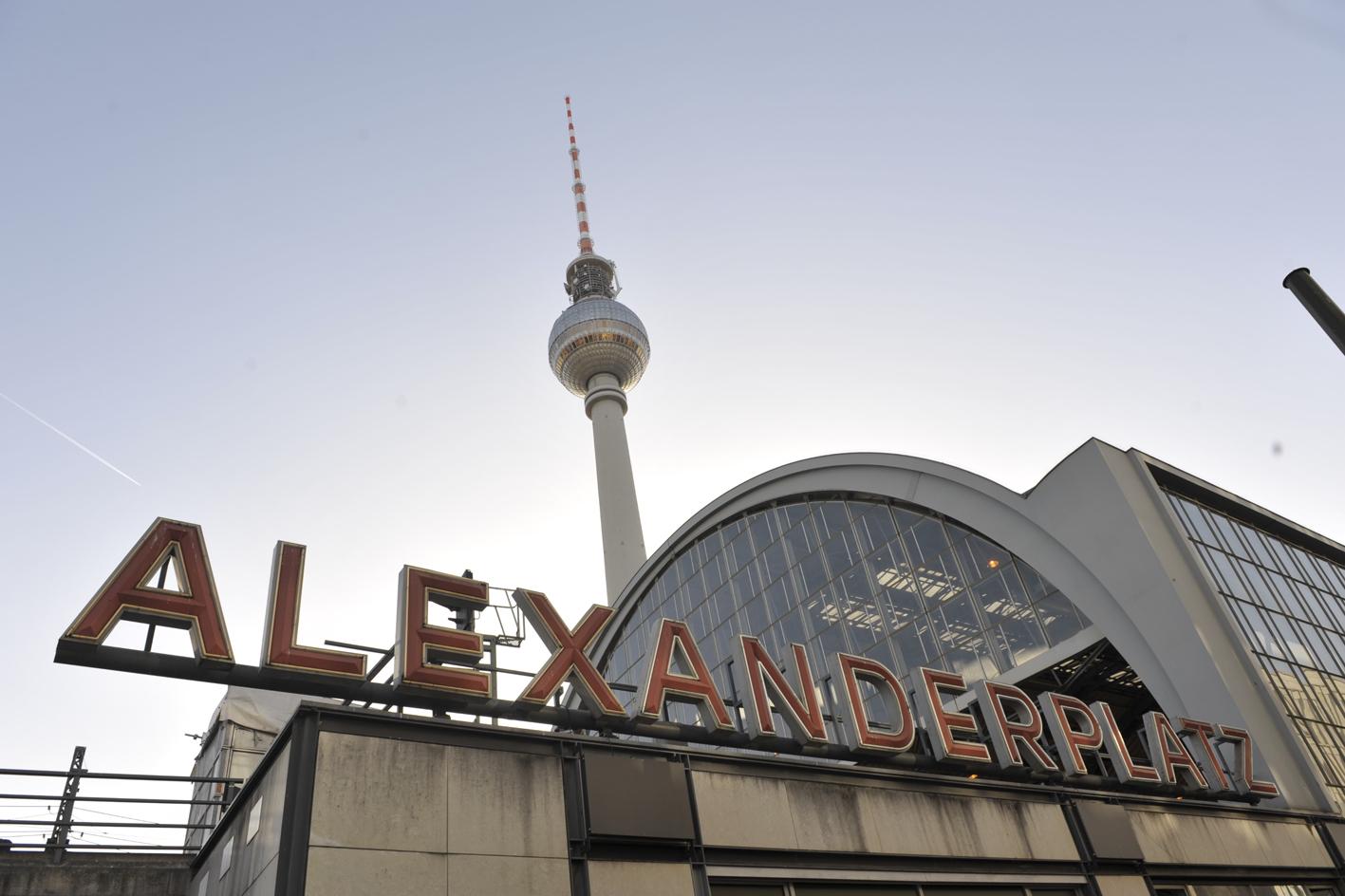 Alexanderplatz and Fernsehturm