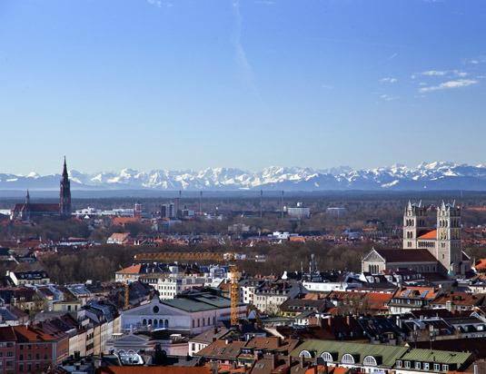 Bavarian Alps ( Image Credit: LMU Munich)