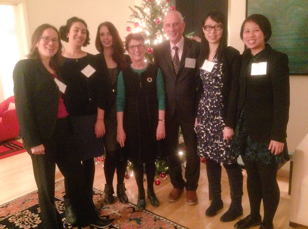 December 2016 General Consulate Holiday Gathering with Alumni