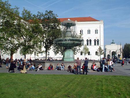 LMU Campus ( Image Credit: LMU Munich)