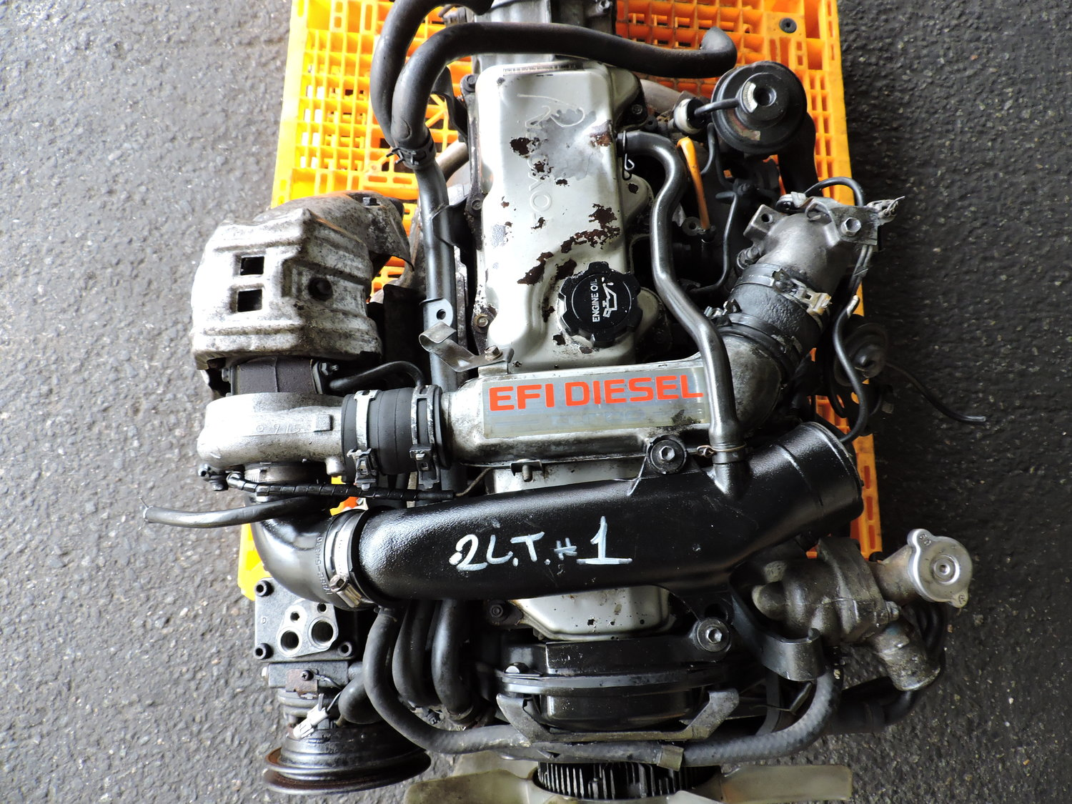 Toyota Hilux Surf LN130 - 2L-TE Turbo Diesel 2 4L JDM Swap — JDM Engines  New Jersey