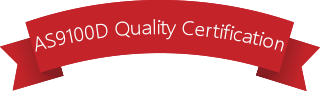 AS9100C Quality Certification Ribbon