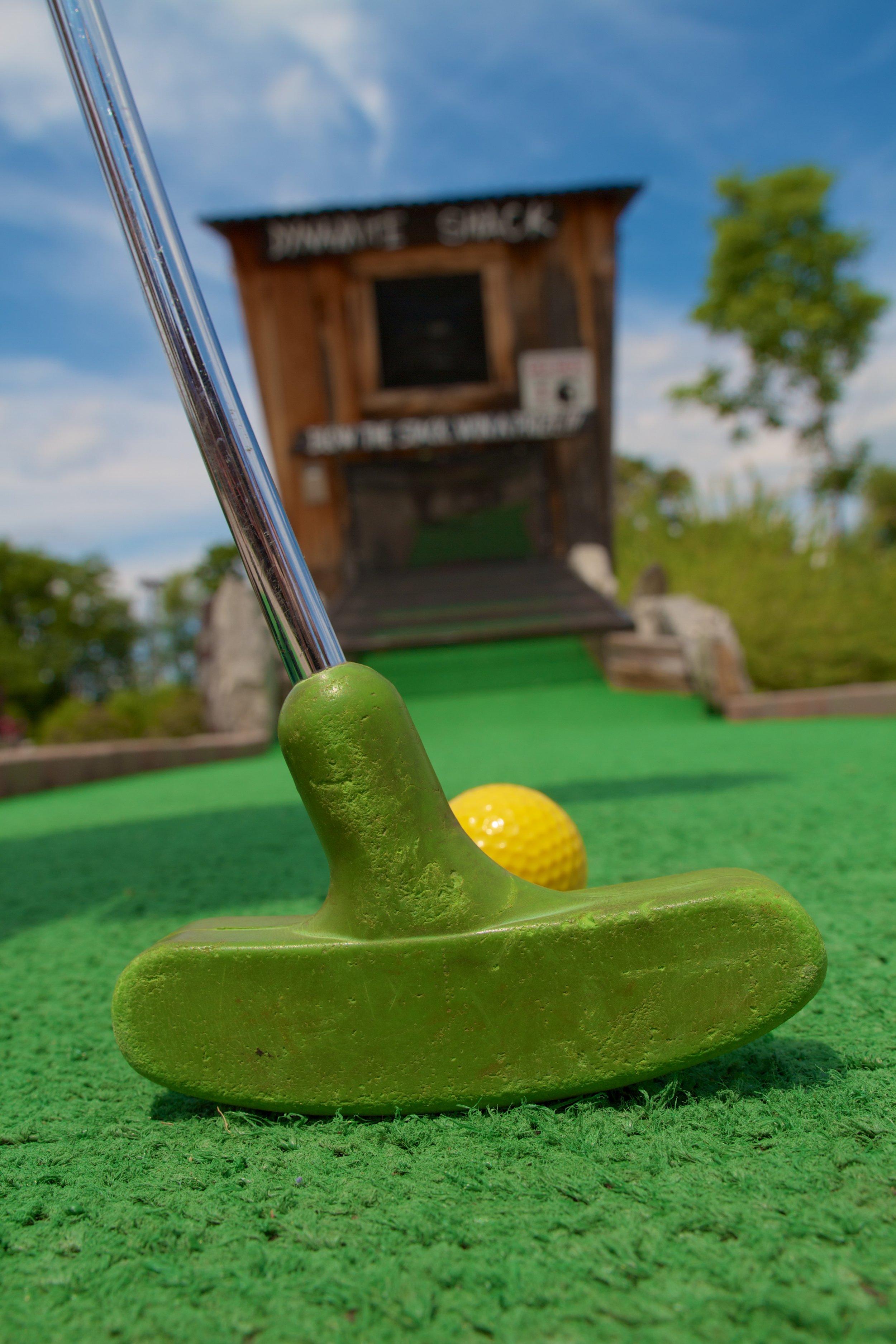 adventure park usa mini golf