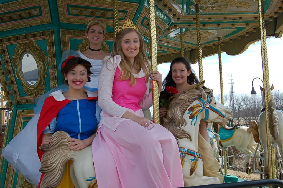 Princesses on Carousel