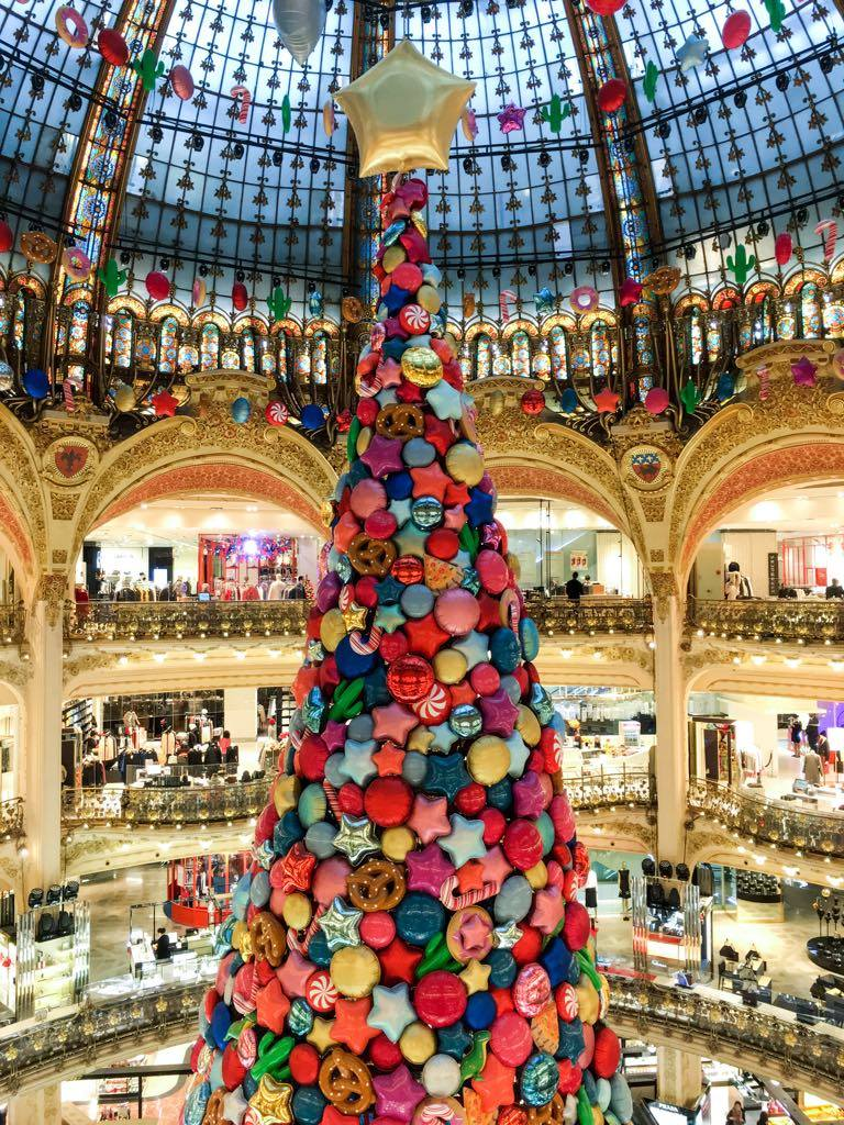 Galeries Lafayette, one of two Parisian department stores to stock PrintWorks Market designs.