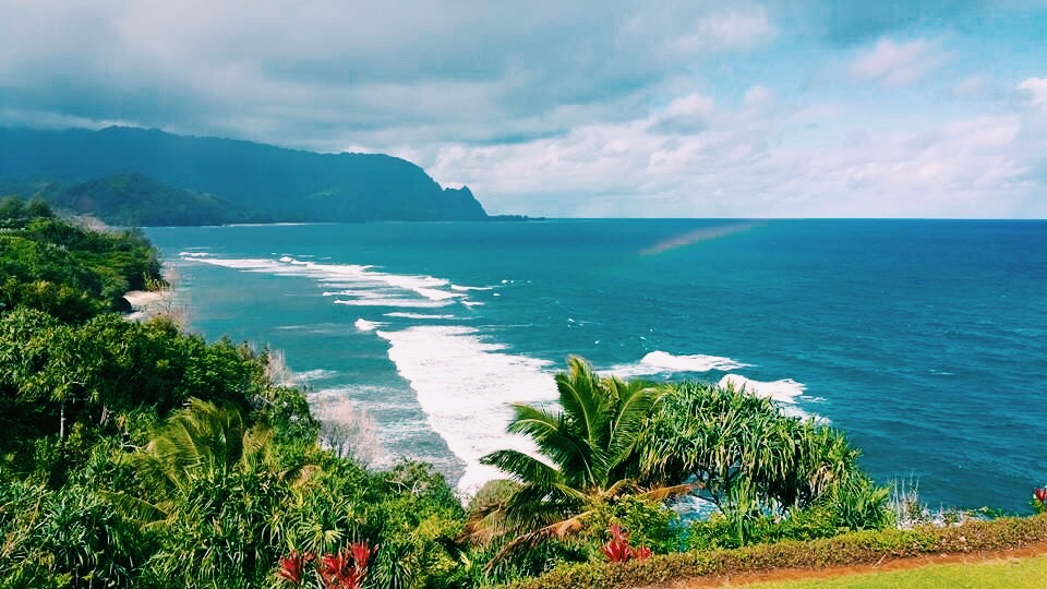 Princeville, Kauai - where it's hard not to love the earth.