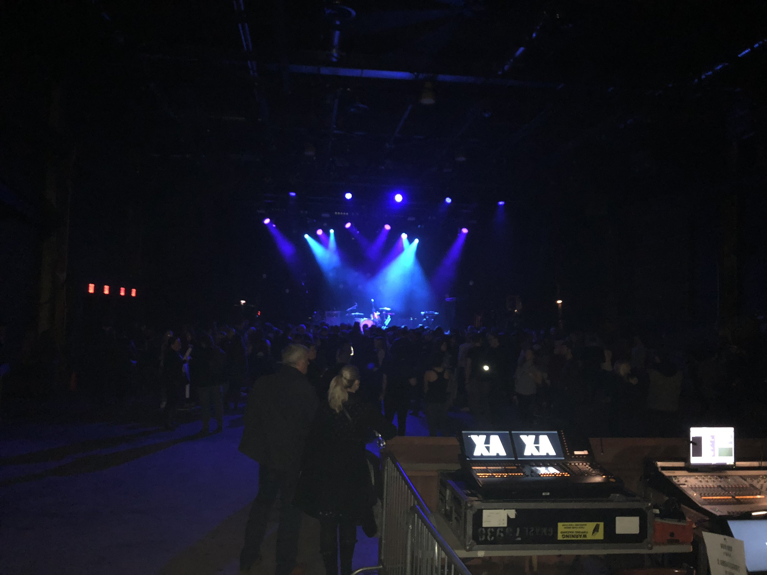 this Brooklyn Steel space was the PERFECT SIZE