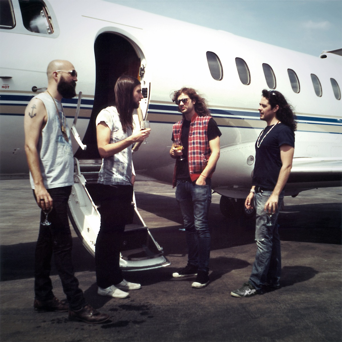 """Tigercity filming the video for    """"Fake Gold"""" circa 2008. Watch the full video   here"""