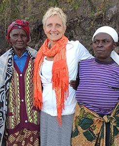 Rev. Sue Royle with 4S Project successes