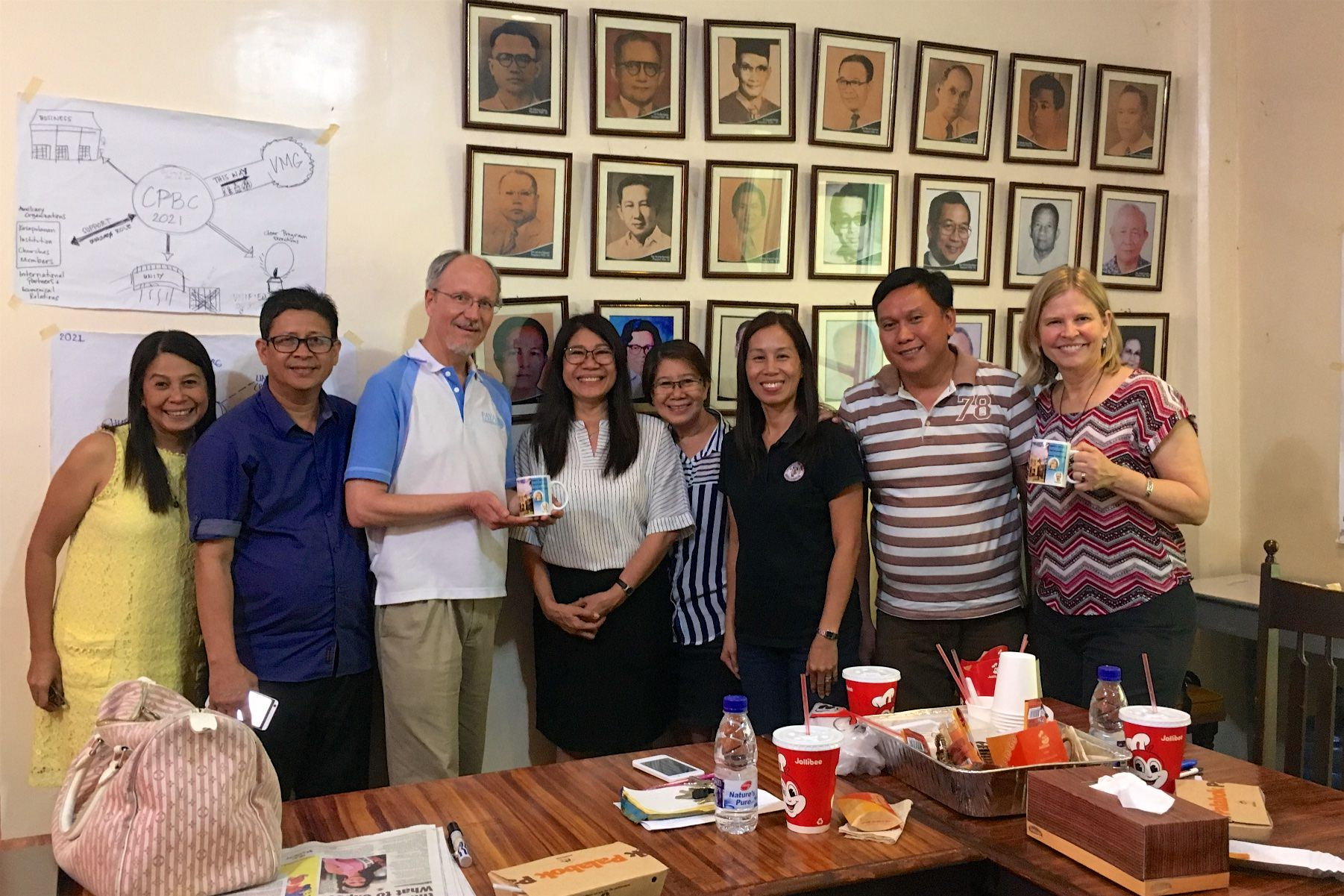 CPBC leaders invited us to work with them as they seek God's direction for ministry for the next five years.