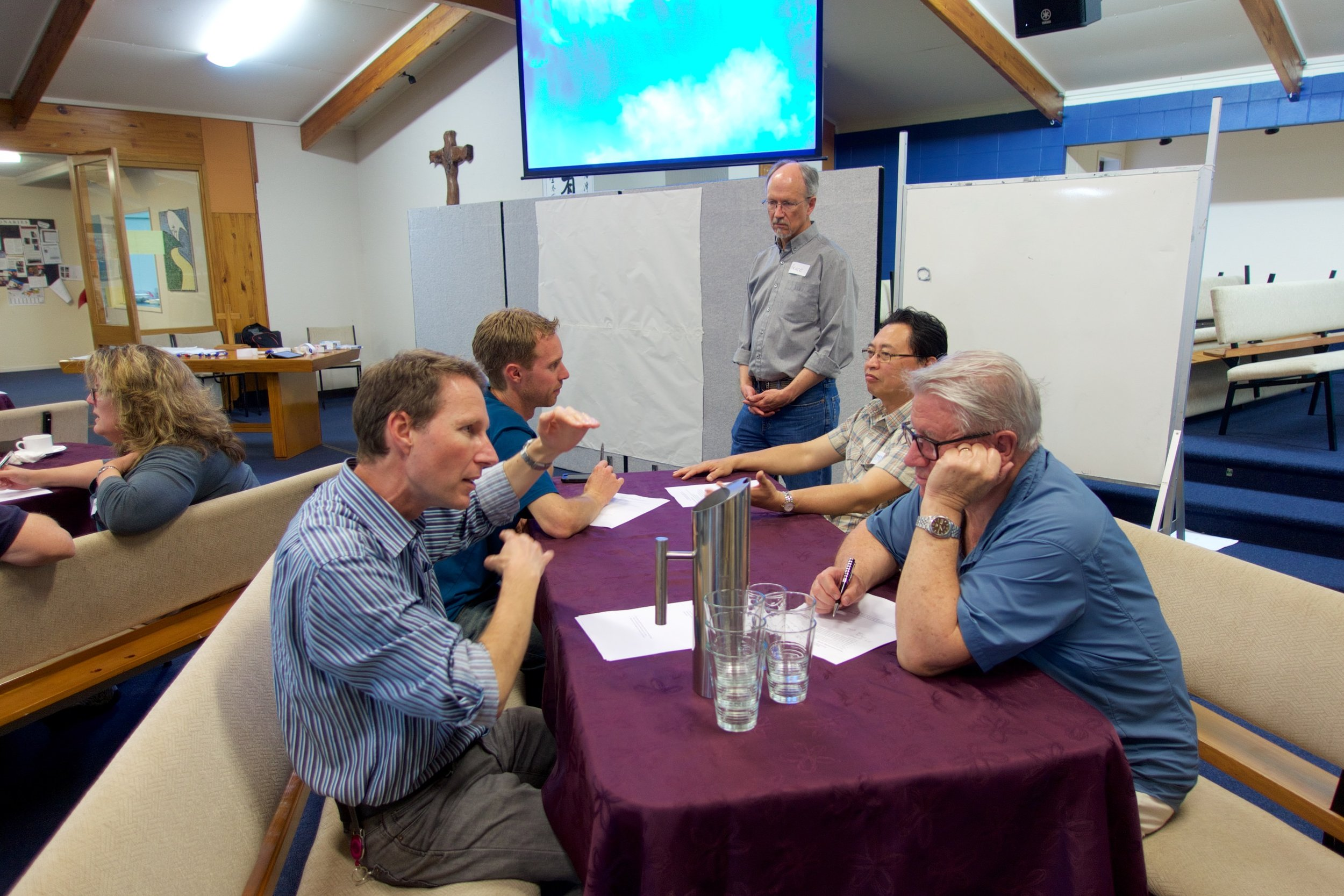 Working with a church in Auckland to (re)discover how to help the congregation experience God's presence through worship.
