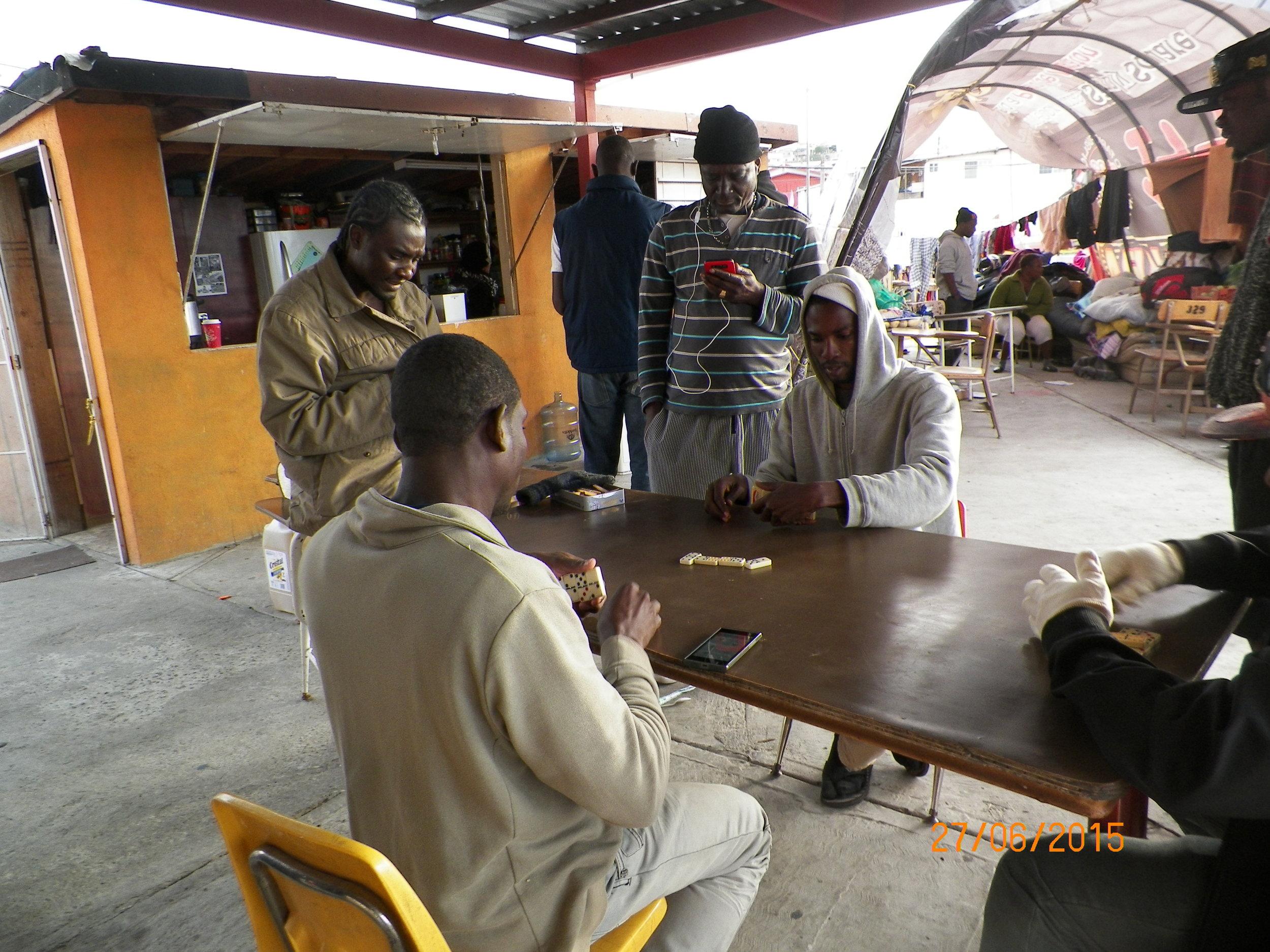 Haitian Refugees in Tijuana, Mexico