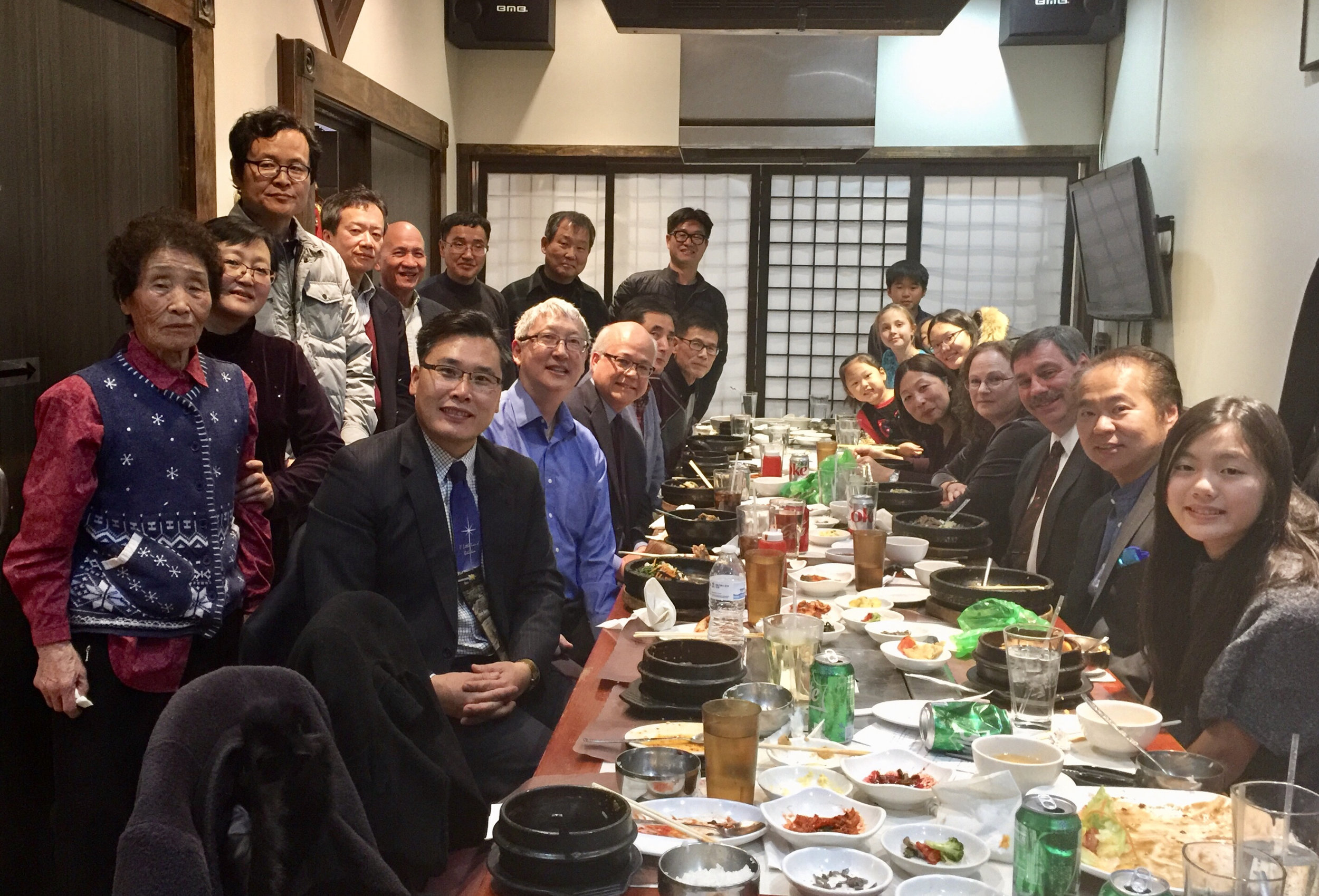 Twenty-Four Korean Pastors, as well as their families, gathered for a time of celebration and encouragement.