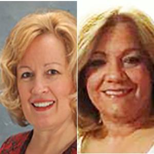 Mrs.Linda Cassel & Mrs. Magda Amargos