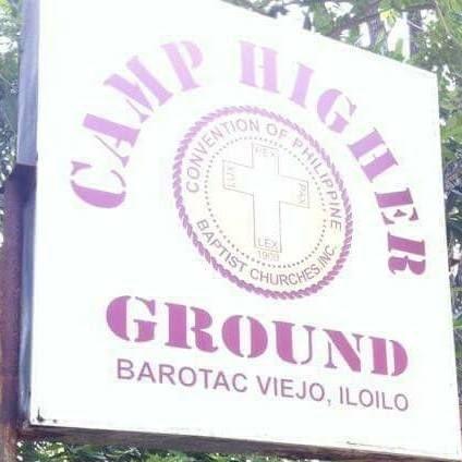 Camp Higher Ground Sign