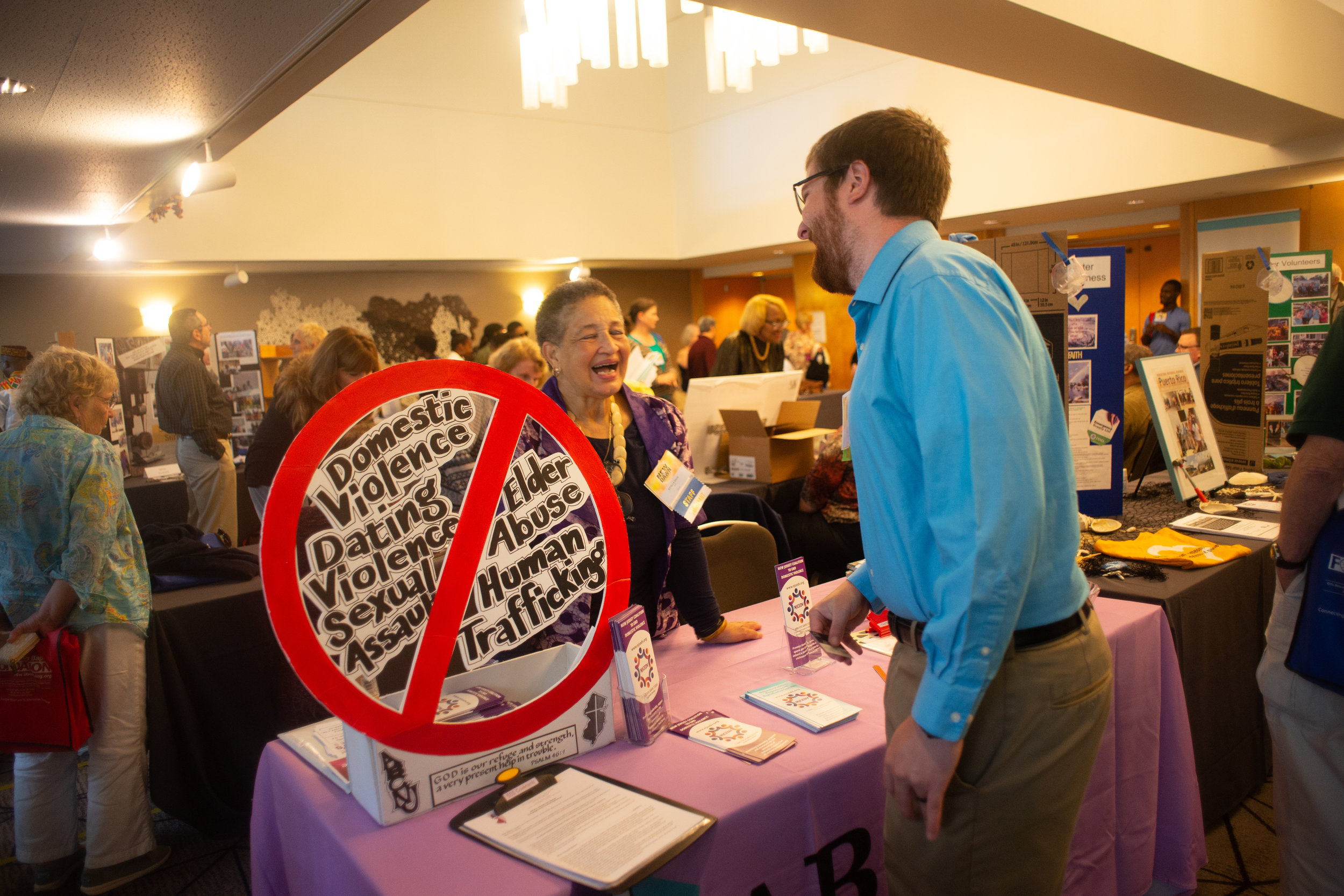 Make connections with ABCNJ's ministries, like Sacred Safe Spaces, at our 2019 Annual Session.