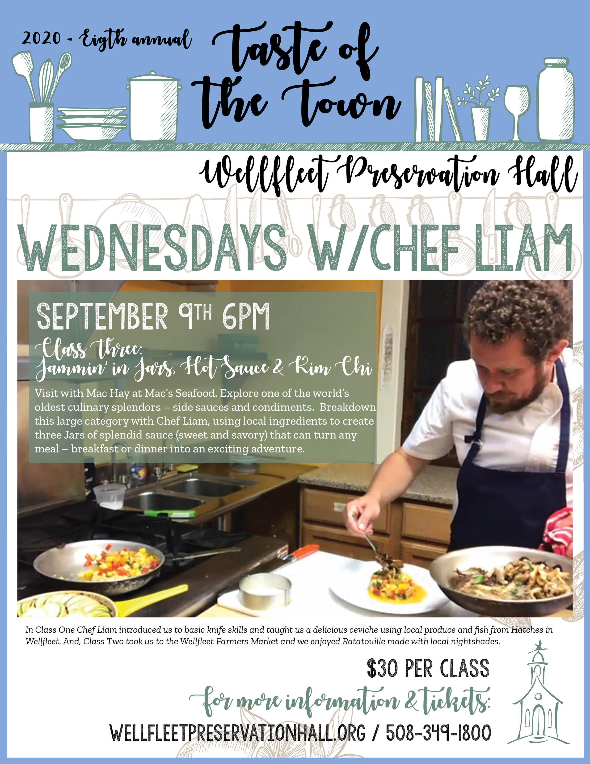 Wednesdays With Chef Liam A Taste Of