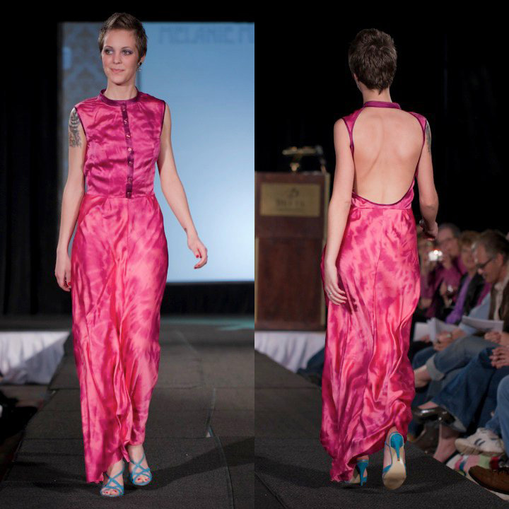Melanie Mitchell3- Shibori Dress hand dyed hand made .jpg