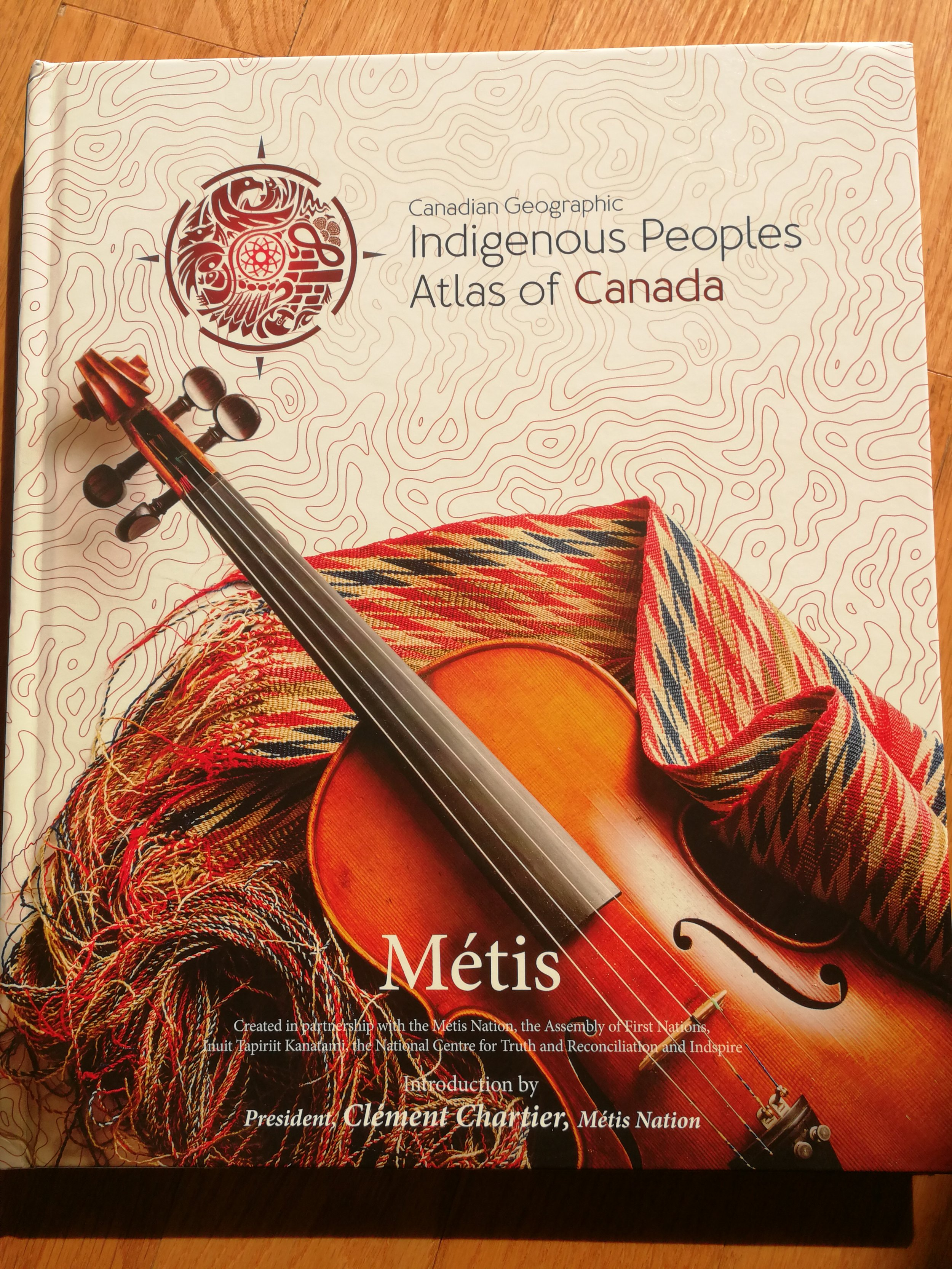 The cover of the volume on the Métis
