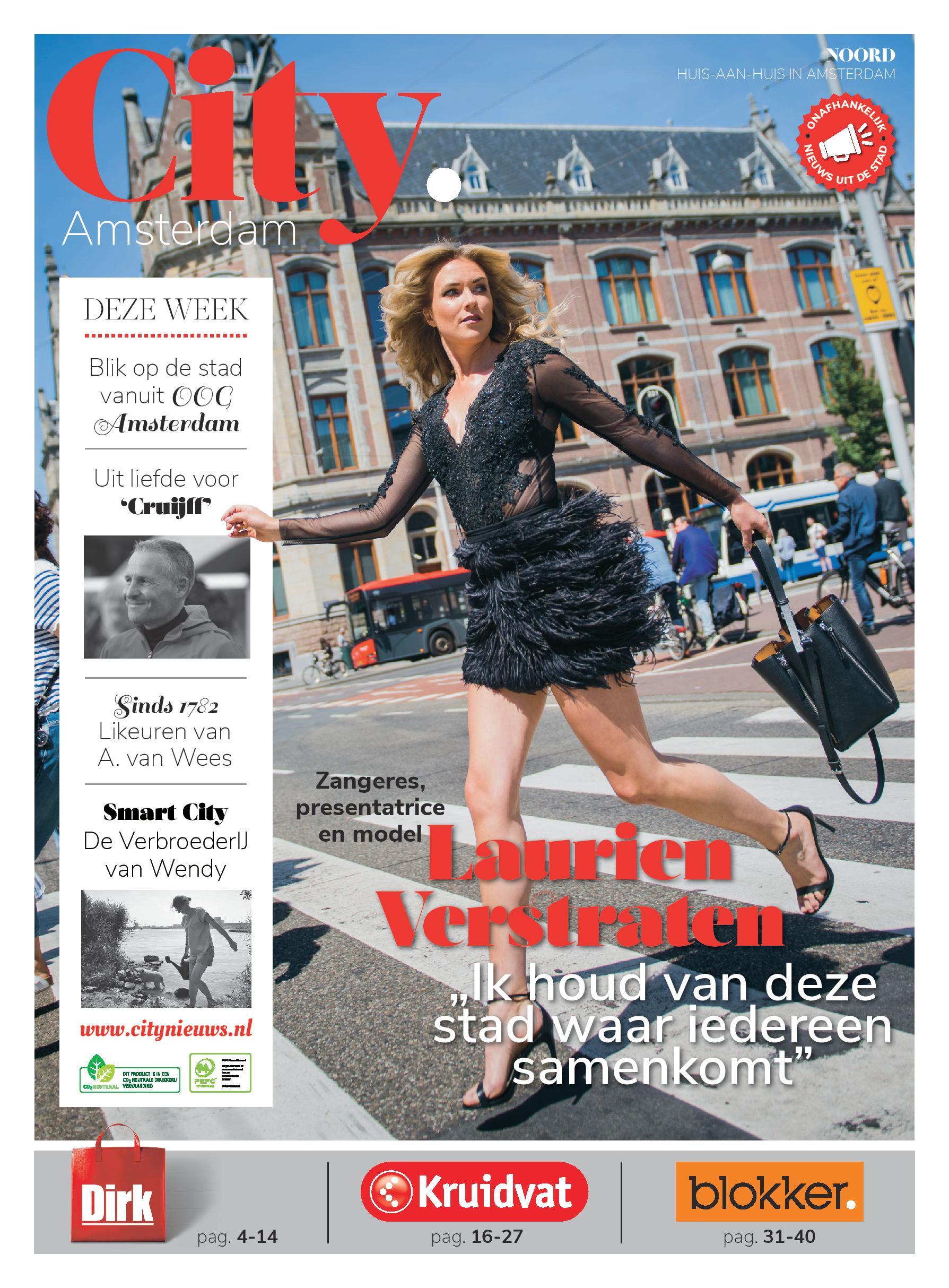 Cover City - Amsterdam, voor het Conservatorium Hotel