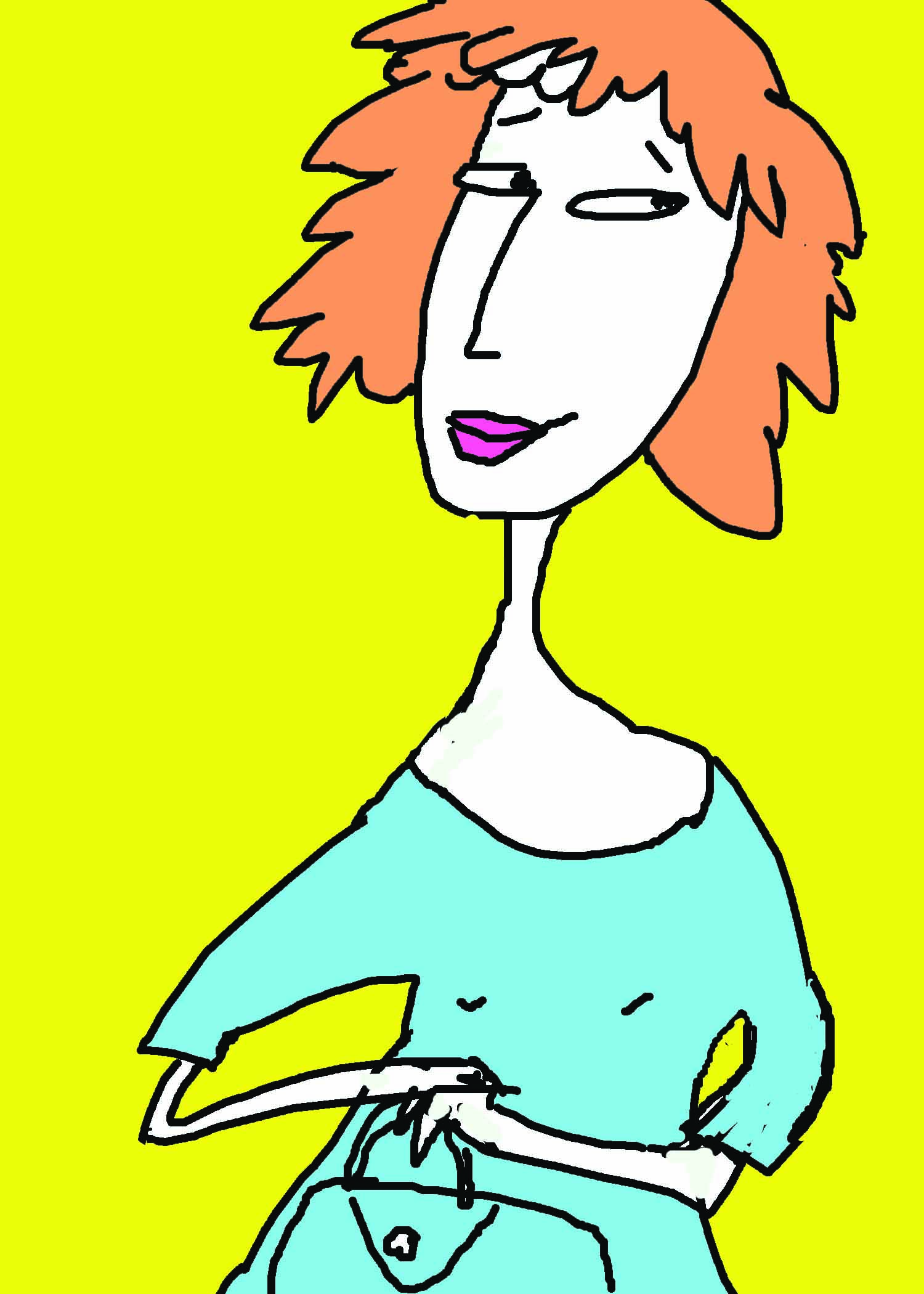 Ginger with purse.jpg
