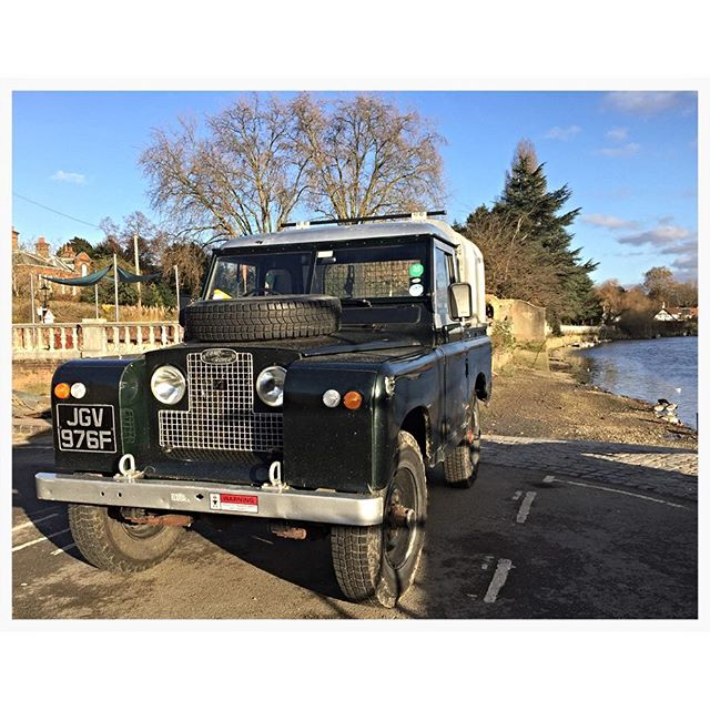 1968 Land Rover and a bit of Eel Pie Island #landrover