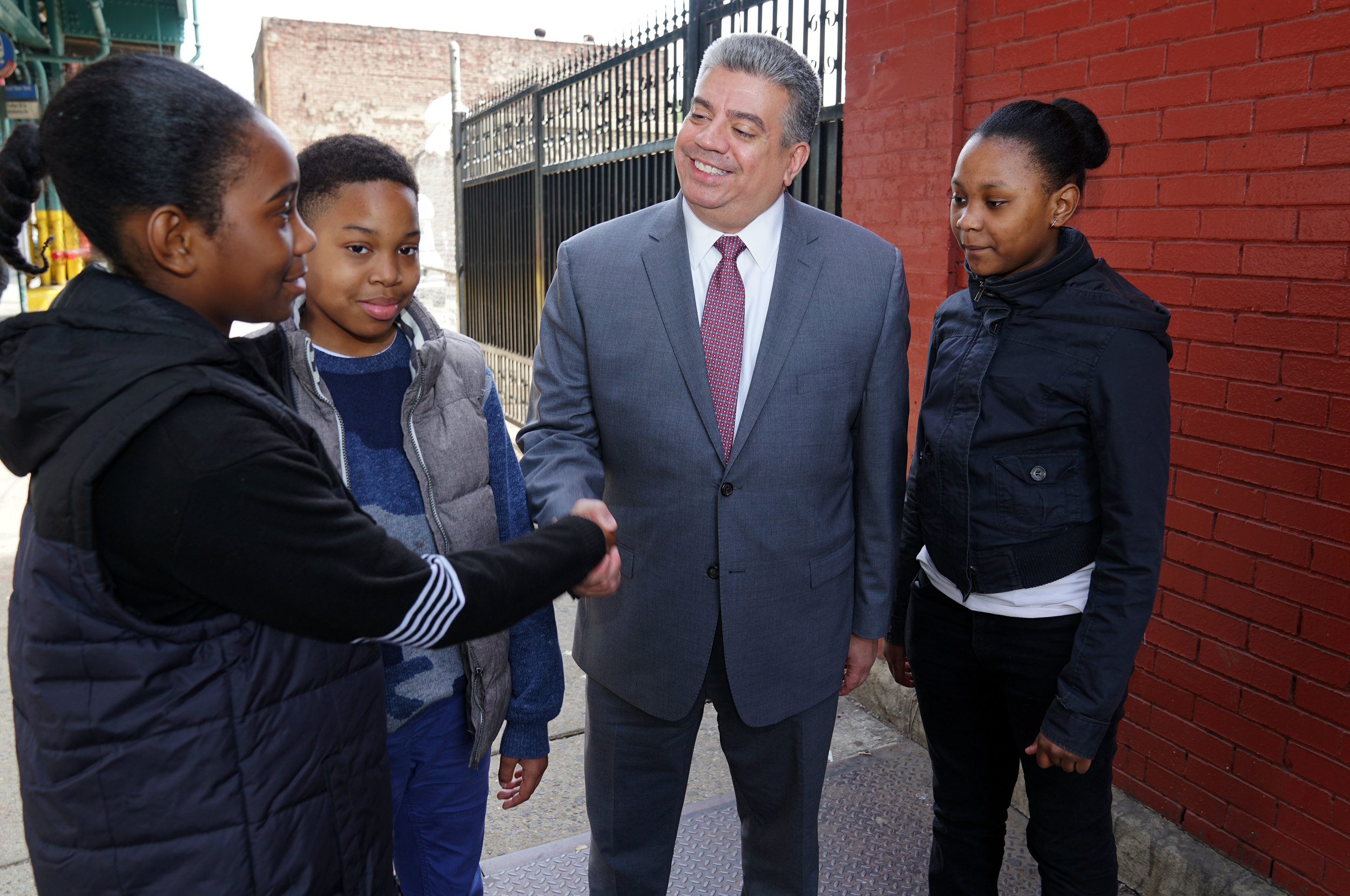 Acting Brooklyn District Attorney Eric Gonzalez