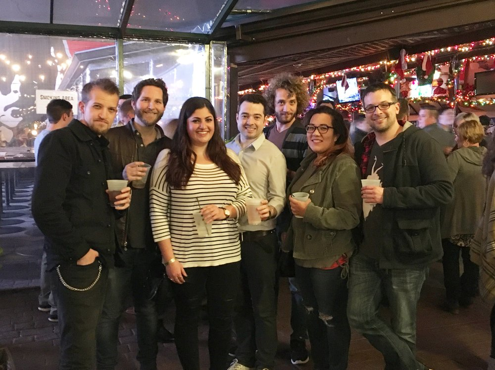 Motion Source crew at WeishFest 2017: David Gall, Hunter Kallenbach, Michelle Maslanka, Steve Brown, Sam Ott, Lydia Koranda, and Craig Bass